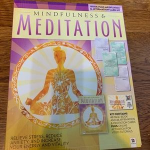 Mindfulness & Meditation Book & Card Set